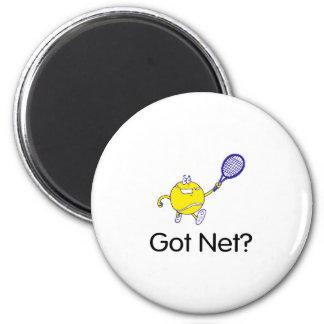 Got Net?Tennis 2 Inch Round Magnet
