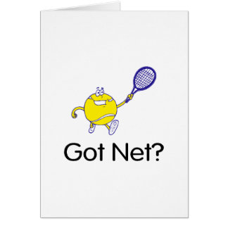 Got Net? (Tennis) Card