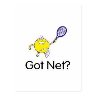 Got Net? (Tennis) Postcard