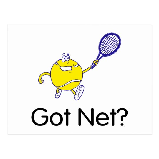 Got Net? (Tennis) Postcard