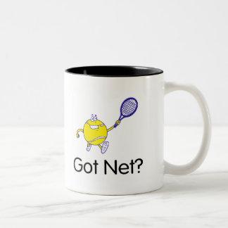 Got Net? (Tennis) Two-Tone Coffee Mug
