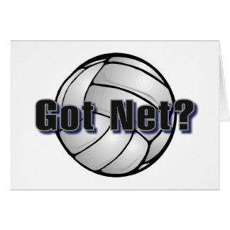 Got Net Volleyball Card