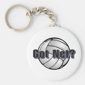 Got Net Volleyball Keychain