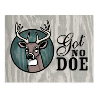Got No Doe Postcard