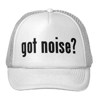 got noise? trucker hat