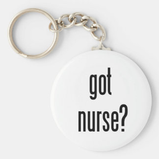 got nurse? keychains