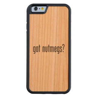 got nutmegs carved® cherry iPhone 6 bumper case