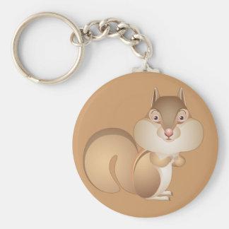 Got Nuts Chipmunk Keychain