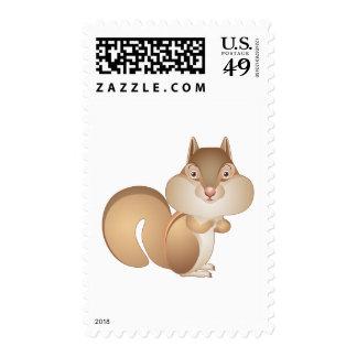 Got Nuts Chipmunk Stamp
