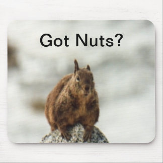 Got Nuts? Mouse Pad