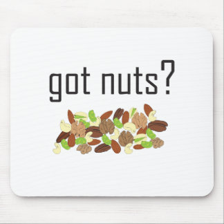 got nuts? (pile of nuts) mouse pad