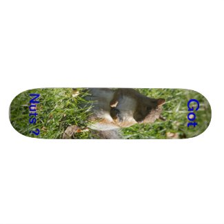 Got nuts ? Skateboard
