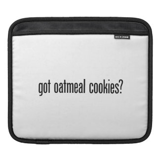 got oatmeal cookies sleeves for iPads