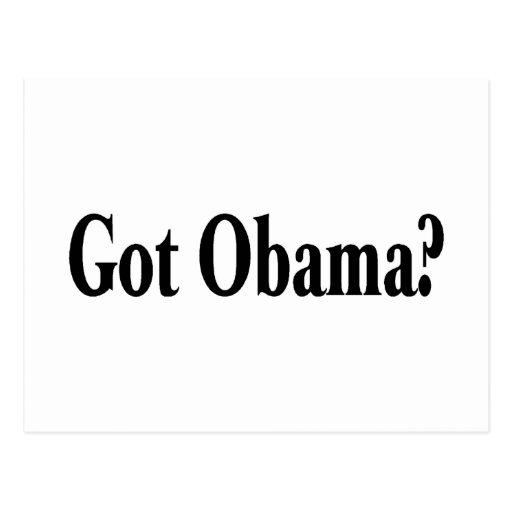 Got Obama Postcard