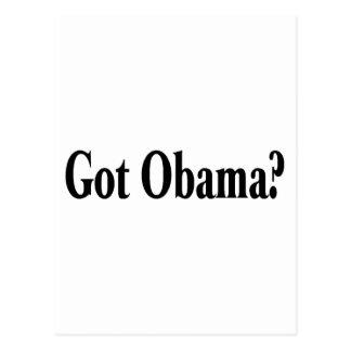 Got Obama? Postcard