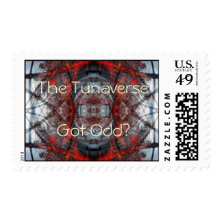 Got Odd? postage stamp