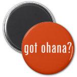 got ohana? refrigerator magnet