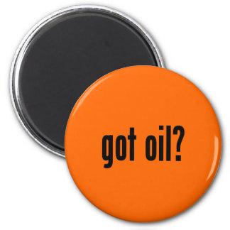 got oil? 2 inch round magnet