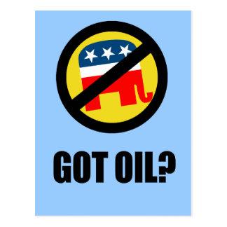 Got Oil Postcard