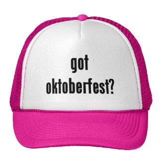 got oktoberfest trucker hat