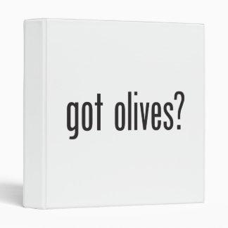 got olives 3 ring binder