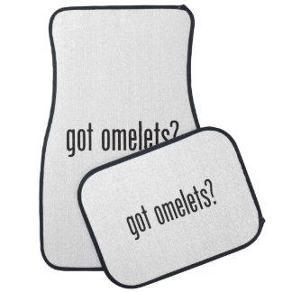 got omelets floor mat