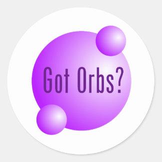Got Orbs Classic Round Sticker