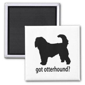 Got Otterhound 2 Inch Square Magnet