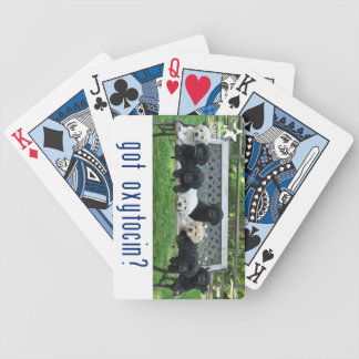 Got oxytocin?  Playing Cards