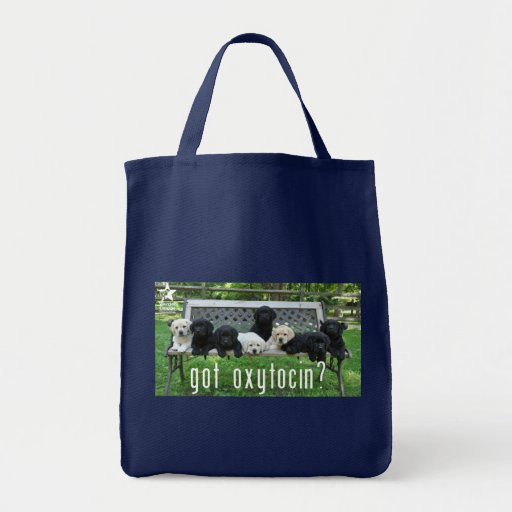 Got Oxytocin?  tote bag