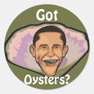 Got Oysters Sticker