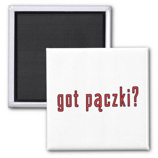 got paczki? 2 inch square magnet