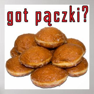 got paczki? Polish Dessert Poster