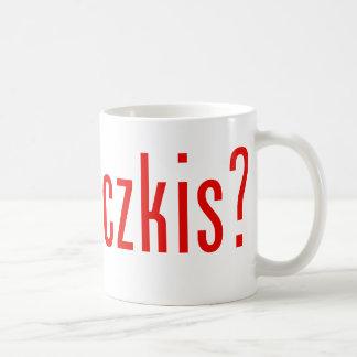got paczkis? coffee mug