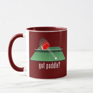 """got paddle?"" mug"