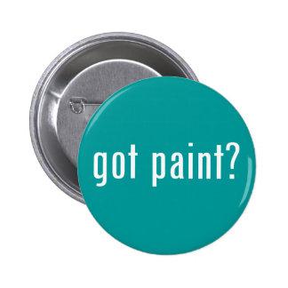 got paint? pinback button