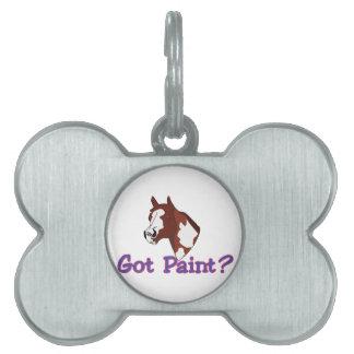 Got Paint? Pet ID Tag