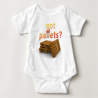 Got Pallets? Baby Bodysuit