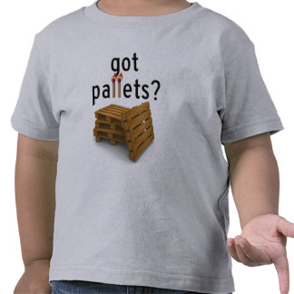 got Pallets? - kids Tshirts