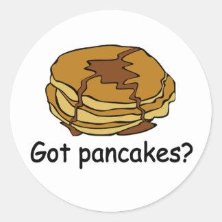 Got Pancakes? Classic Round Sticker