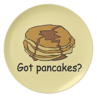 Got Pancakes Plate