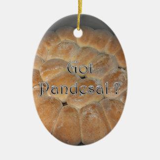 Got Pandesal? Filipino sweet dinner roll Ceramic Ornament