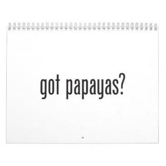 got papayas wall calendars