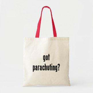 got parachuting? tote bag