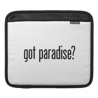 got paradise.ai iPad sleeves