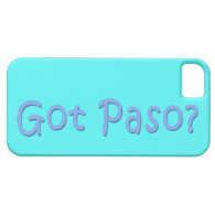 Got Paso? iPhone 5/5S Covers