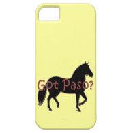 Got Paso? Paso Fino Silhouette iPhone 5 Covers