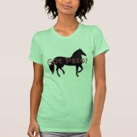 Got Paso? Paso Fino Silhouette T-shirt
