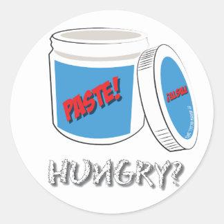 Got Paste? Classic Round Sticker