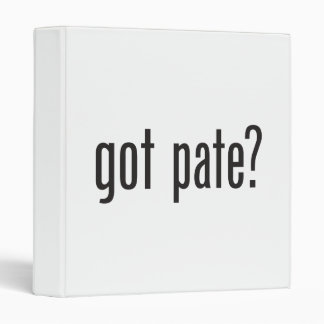 got pate binder